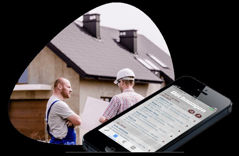 Abrechnung - app dux-facti für ios und android smartphone