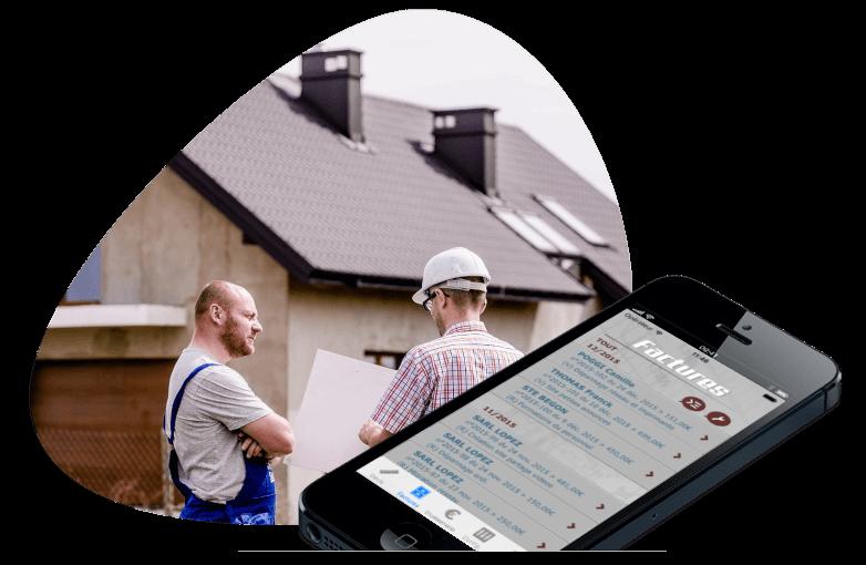 facturation appli dux-facti pour smartphone IOS et ANDROID
